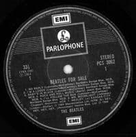 THE BEATLES Beatles For Sale Vinyl Record LP Parlophone